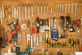 get this simple tool for ultimate garage organization