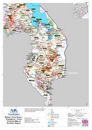 Malawi Map Malawi Floods January 2015 Mapaction