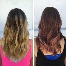 balayage hair que es 15 pruebas de que el cabello rosa dorado es el cambio que