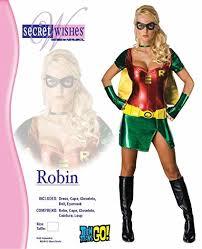 Robin Halloween Costume Men Amazon Batman Secret Wishes Robin Costume Clothing