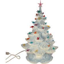 ceramic christmas tree with lights cracker barrel white ceramic christmas tree madinbelgrade