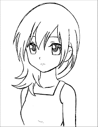 manga coloring pages for kids at coloring pages