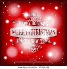 vector merry card poster design stock vector 541427164