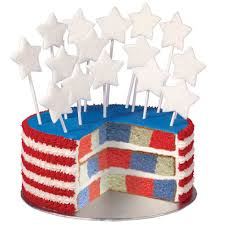 red white and true blue checkerboard cake wilton
