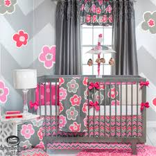 pink and grey zig zag baby bedding ktactical decoration