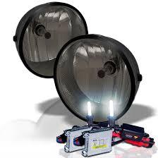 toyota tacoma hid fog lights hid xenon 05 12 toyota tacoma truck fog lights kit smoked