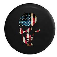 jeep tire size chart american flag skull military usmc patriot infidel jeep rv camper