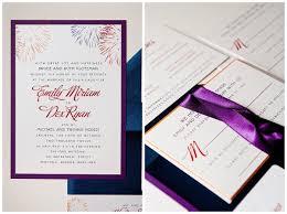 Wedding Invitations Inserts Firework Save The Date And Wedding Invitation Set Gourmet