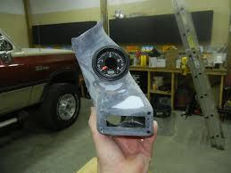 Dodge Ram Cummins Straight Pipe - custom gauge pod check this out dodge cummins diesel forum