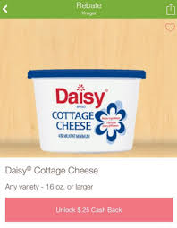 Cottage Cheese Daisy by Daisy Cottage Cheese Only 1 63 At Kroger Kroger Krazy