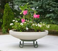 featured large round concrete planters doty and sons concrete
