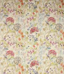 British Upholstery Fabric Beautiful 100 Linen Fabric With A Stunning Watercolour Design