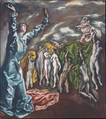 el greco domenikos theotokopoulos the vision of saint john