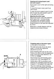 pfaff 797 hobbylock sewing machine threading diagram knit hook