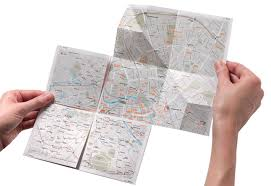 paper maps the zoomable paper map prêt à voyager