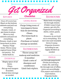 Housekeeping Tips A Checklist For The Whole House To Get Organized Flair