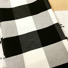 buffalo check is my new obsession or how i made no sew cafe