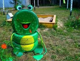 Craft Ideas For Garden Decorations - 60 quick u0026 easy spare tire ideas diy to make