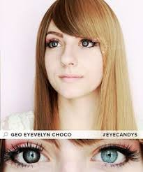Most Comfortable Contacts For Astigmatism Geo Fresh Brown And Grey Circle Lenses For Astigmatism These