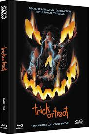 trick or treat blu ray limited edition mediabook cover a germany