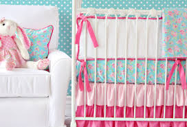 Pink And Gold Baby Bedding Cribs Surprising Grey Teal Crib Bedding Sensational Teal And