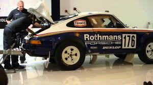 rothmans porsche rally porsche 911 paris dakar youtube