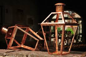 Patio Lantern Lights by Dining Room Interesting Antique Lighting Design With Bevolo
