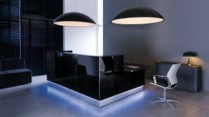 Black Reception Desk Linea U Shape Countertop Reception Desk High Gloss Black Buy
