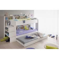 chambre enfant lit superposé lit superposé chambre enfant coloris blanc avec tiroir
