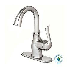 moen boutique single hole 1 handle high arc bathroom faucet in