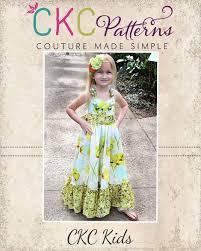 peony u0027s girls boutique sweetheart maxi dress pdf pattern