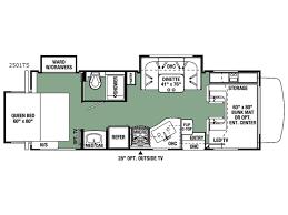 c trailer floor plans rear living travel trailer floor plans unique forester motor home