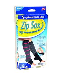 Walgreens Socks Amazon Com Zip Sox Compression Socks By Bulbhead Pair L Xl