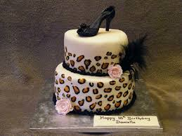 leopard print cake a photo on flickriver