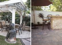 Remodel Backyard Paving Stone Transforms Outdoor Living
