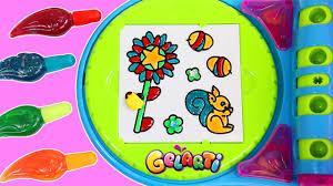 new gelarti designer studio playset diy stickers part 1 paint