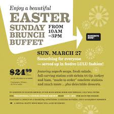 Palm Springs Buffet by Lulu Restaurants Held The Ester Sunday In Palm Springs