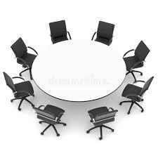 chaise de bureau ronde chaises de bureau et table ronde photo stock image du différence