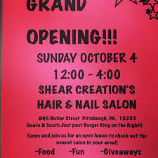 shear creation u0027s hair and nail salon closed hair salons 845