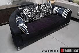 Round Sofa Bed by Amazon Com Modern Round Sleeper Bed Sofa Black Microfiber B098b