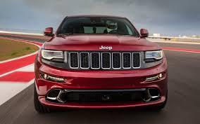 jeep grand srt 2015 2014 jeep grand srt track drive motor trend