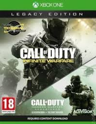 call of duty infinite warfare legacy edition preowned xbox one