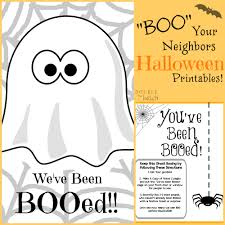 printable halloween sheets boo your neighbors halloween printables