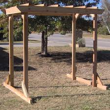 Swing Arbor Plans Best 20 Free Standing Pergola Ideas On Pinterest Free Standing
