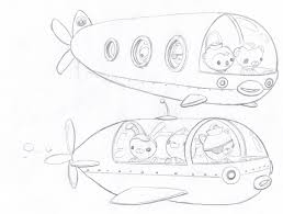 octonauts gup colouring pages gekimoe u2022 100887