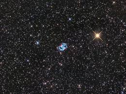 Space Photographer Spies Little Dumbbell Nebula In A Sea Of Stars