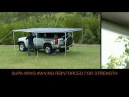 4x4 Awning Supa Wing Rv 4x4 Awning Full Youtube