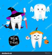 halloween concept teeth set funny teeth stock vector 484848073