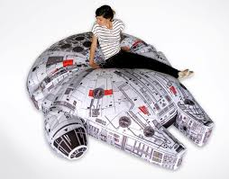 Beanbag Bed You Just Want To Jump On This Millennium Falcon Beanbag Bed