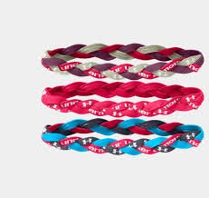 headbands that stay in place armour braided headbands this in pink and white they